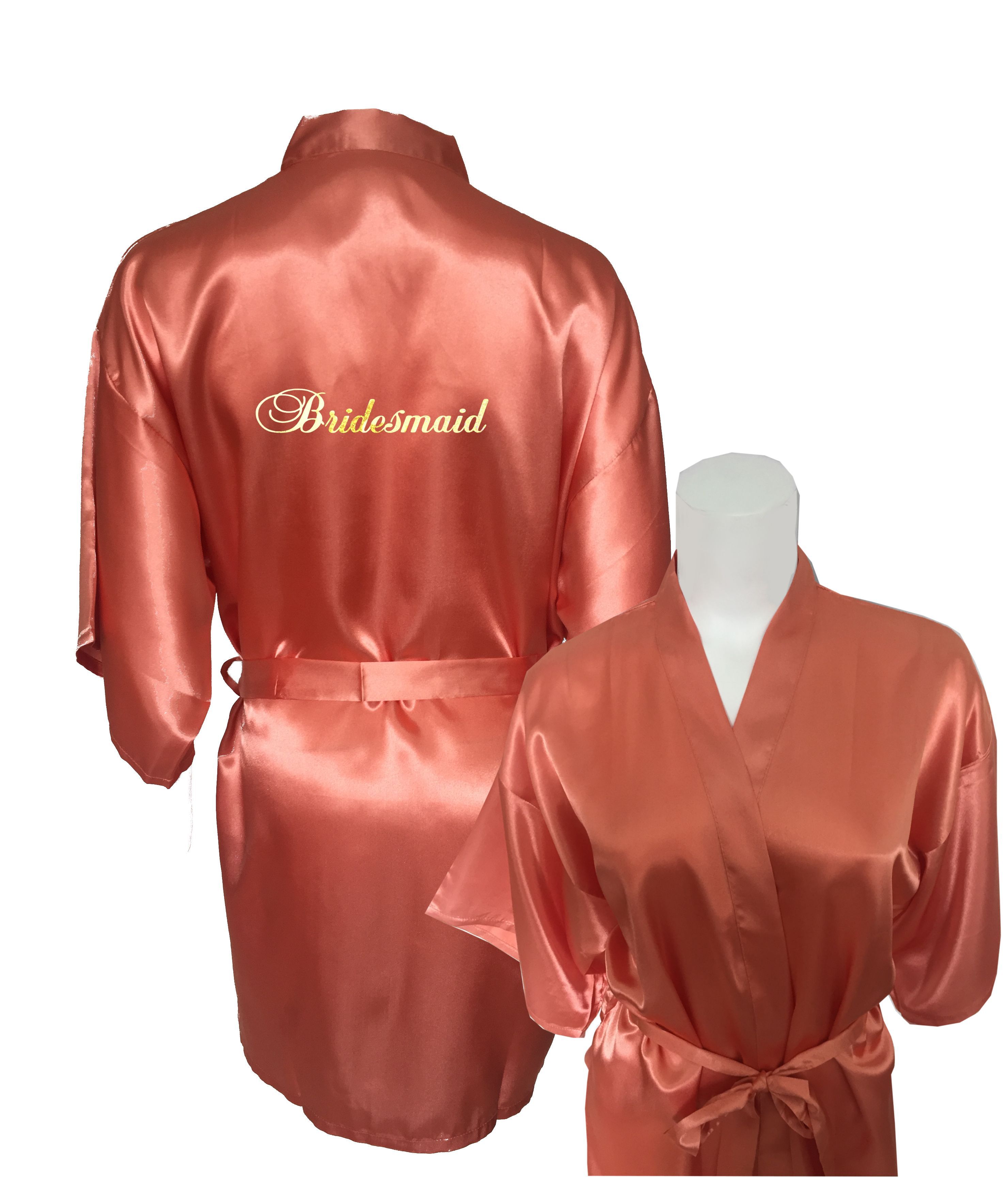 Bridesmaid robes image by Bridal Delights Australia on