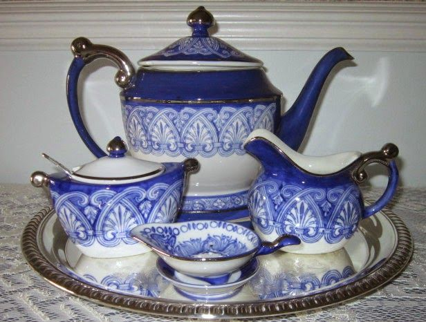 Blue White China From Bombay Company With Images Blue And