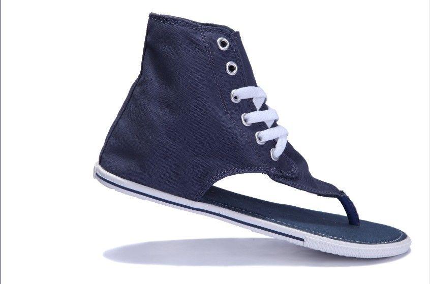 389bcf69b72 ALL STAR Roman Sandals blue Converse Shop