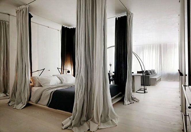Camere Da Letto Con Letto A Baldacchino : Dividere camera con letto a baldacchino cerca con google