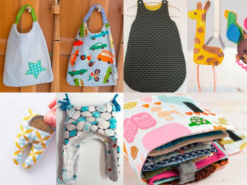 Diaporama: DIY : 10 idées pour bébé | Idées pour bébés, Projets de couture bébé, Couture pour bébé