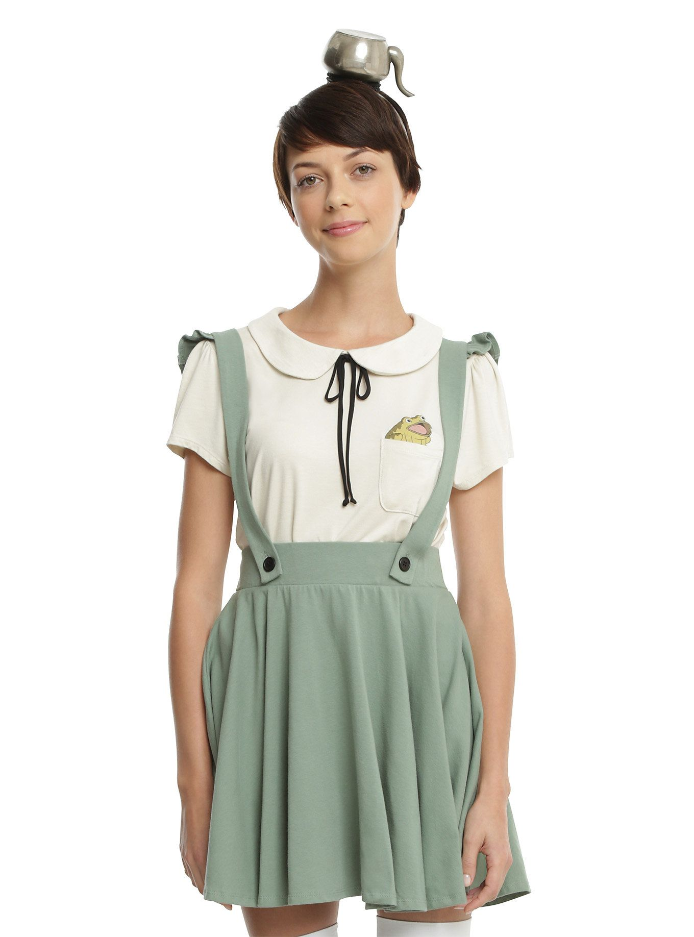 4c26d553343 Over The Garden Wall Greg Olive Jumper
