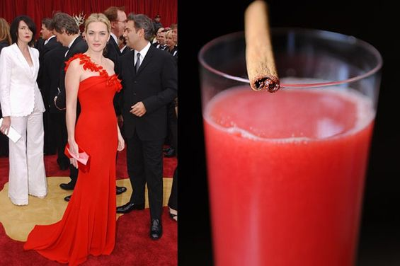 FOOD52 recipes with uncanny resemblances to famous Oscar dresses.