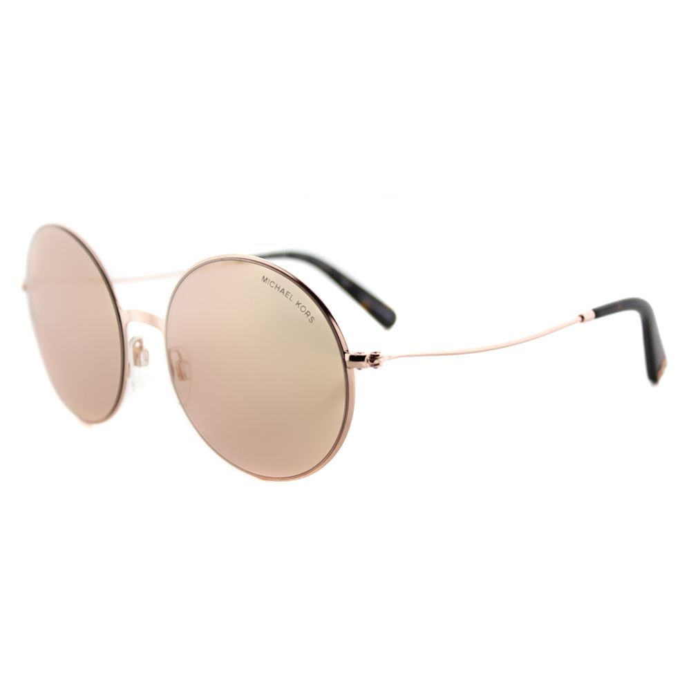 a3b95533a6a Michael Kors MK 5017 1026R1 Kendal II Rose Round Rose Flash Mirror Lens  Sunglasses