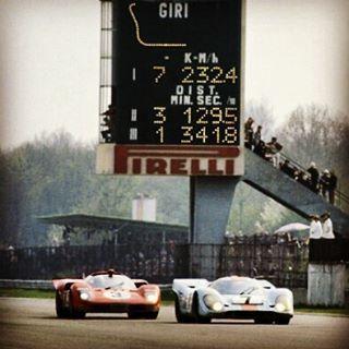 1000 kilómetros de Monza de 1970. Duelo de titanes