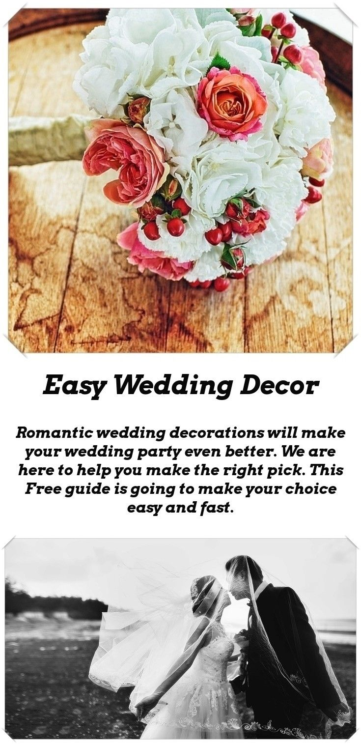 Wedding decoration ideas simple  Wedding Decoration Ideas  Simple wedding decorations Simple