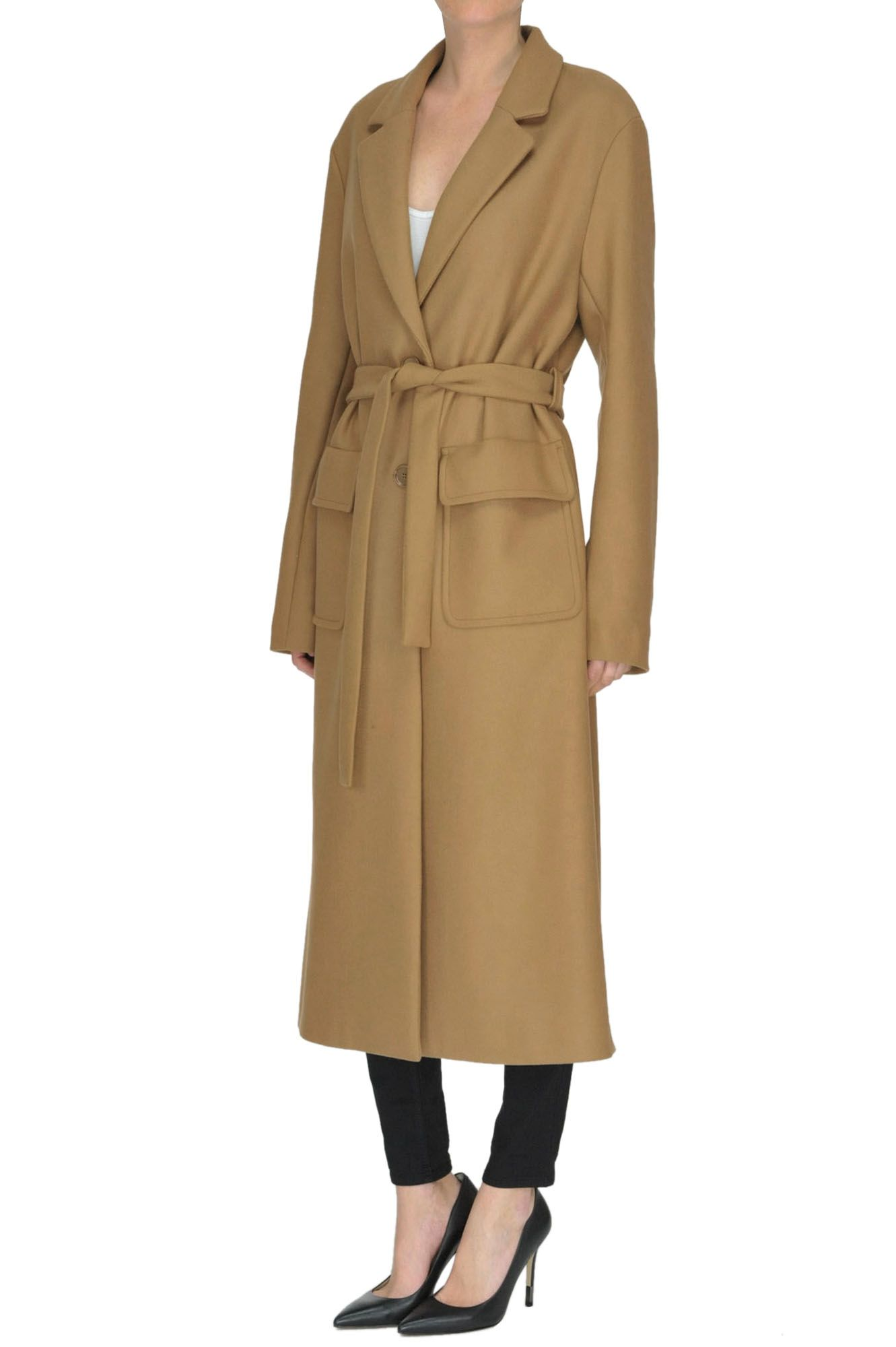 uk availability 4b1a9 c5d4b Cappotto lungo in misto lana | Outfits and Intimates | Misto ...