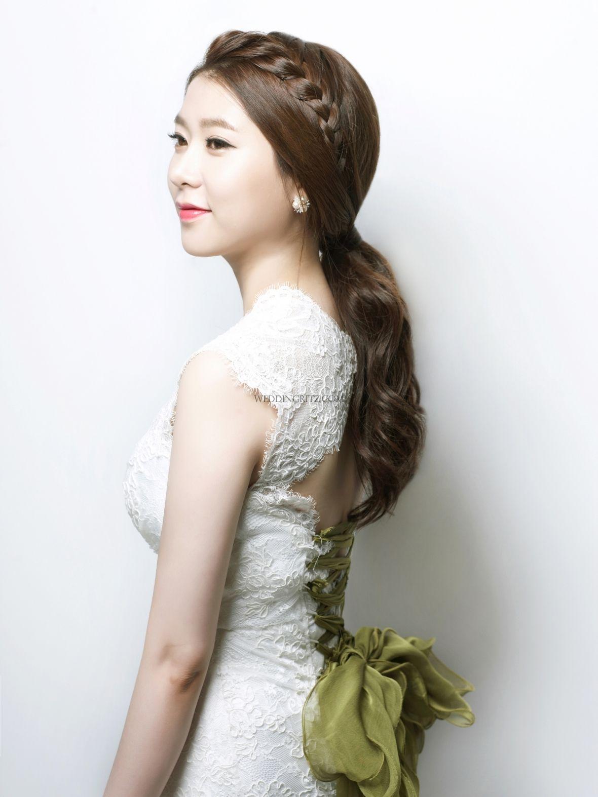 Beautiful Gyuniyoung in Korea Hair & Makeup Sample   韓國新娘髮型 ...
