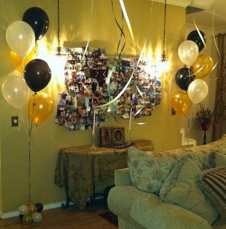 Adult Birthday Party Balloon Decor Tulsa OK 60th Birthday Party