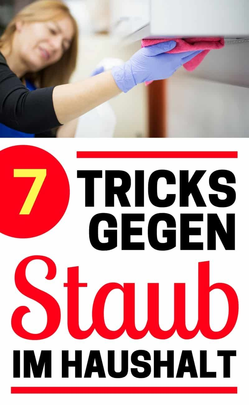 7 tricks gegen den staub im haushalt tipps und tricks pinterest haushalte haushaltstipps. Black Bedroom Furniture Sets. Home Design Ideas
