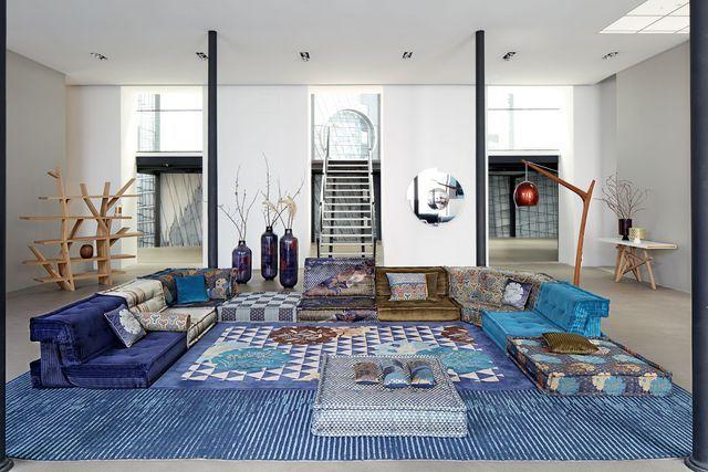 Nouvelle collection Roche Bobois : canapé, table, accessoires déco ...