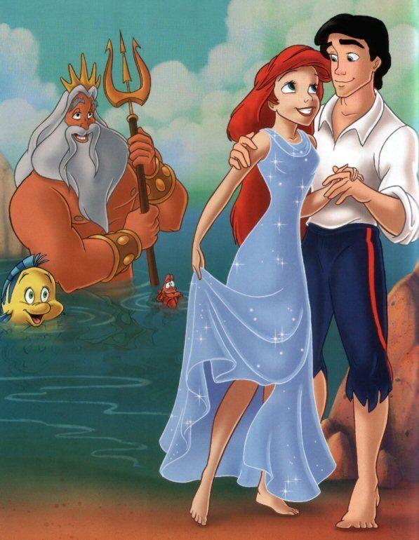 разу картинки с русалками и принц вернулся