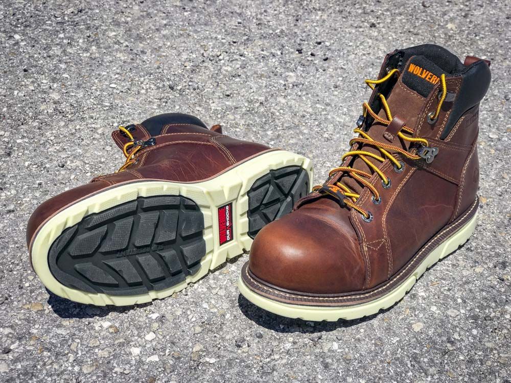 baccbffaa52 Wolverine I-90 Durashocks CarbonMax Wedge Work Boots Review   Power ...