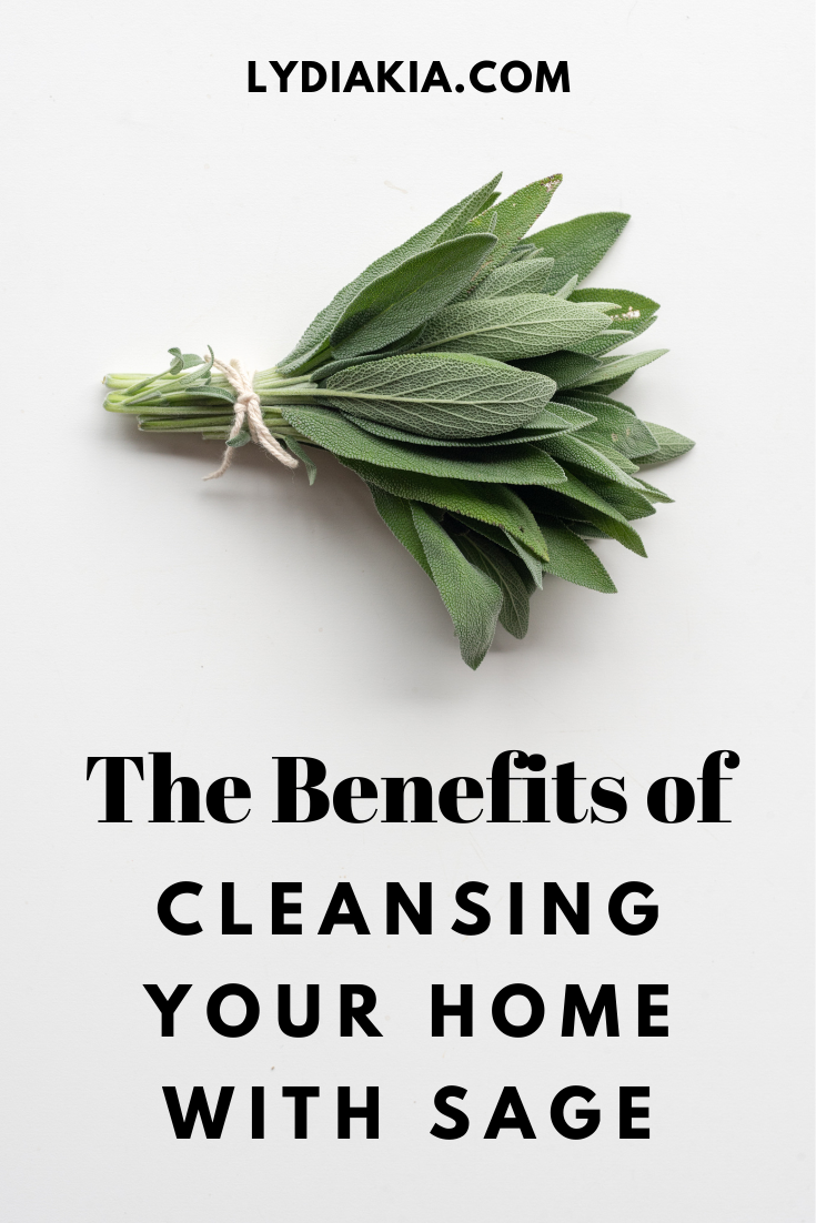 Burning Sage To Cleanse The Energy In Your Space Benefits Of Burning Sage Burning Sage Sage Benefits