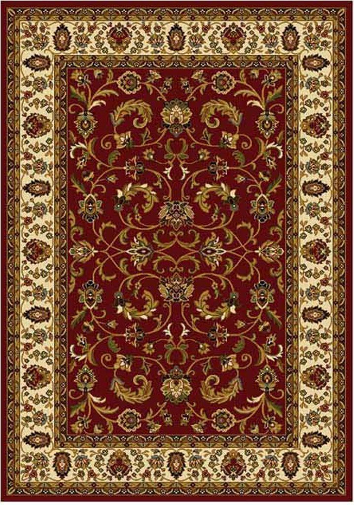 Persian Red Cream Area Rug 6x8 Oriental Carpet 08 Actual