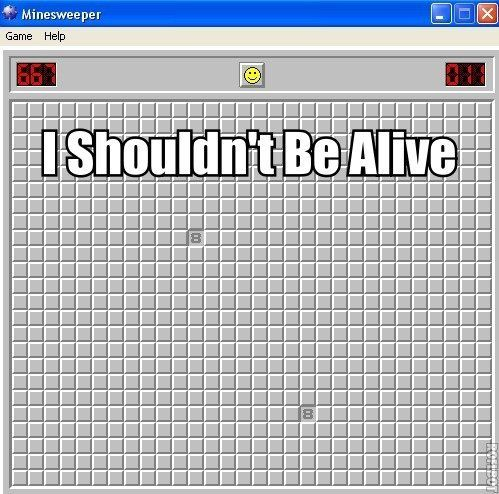 minesweeper humor?  Who knew