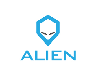 Alien Logo Template By Cooledition Logos Logo Templates Alien