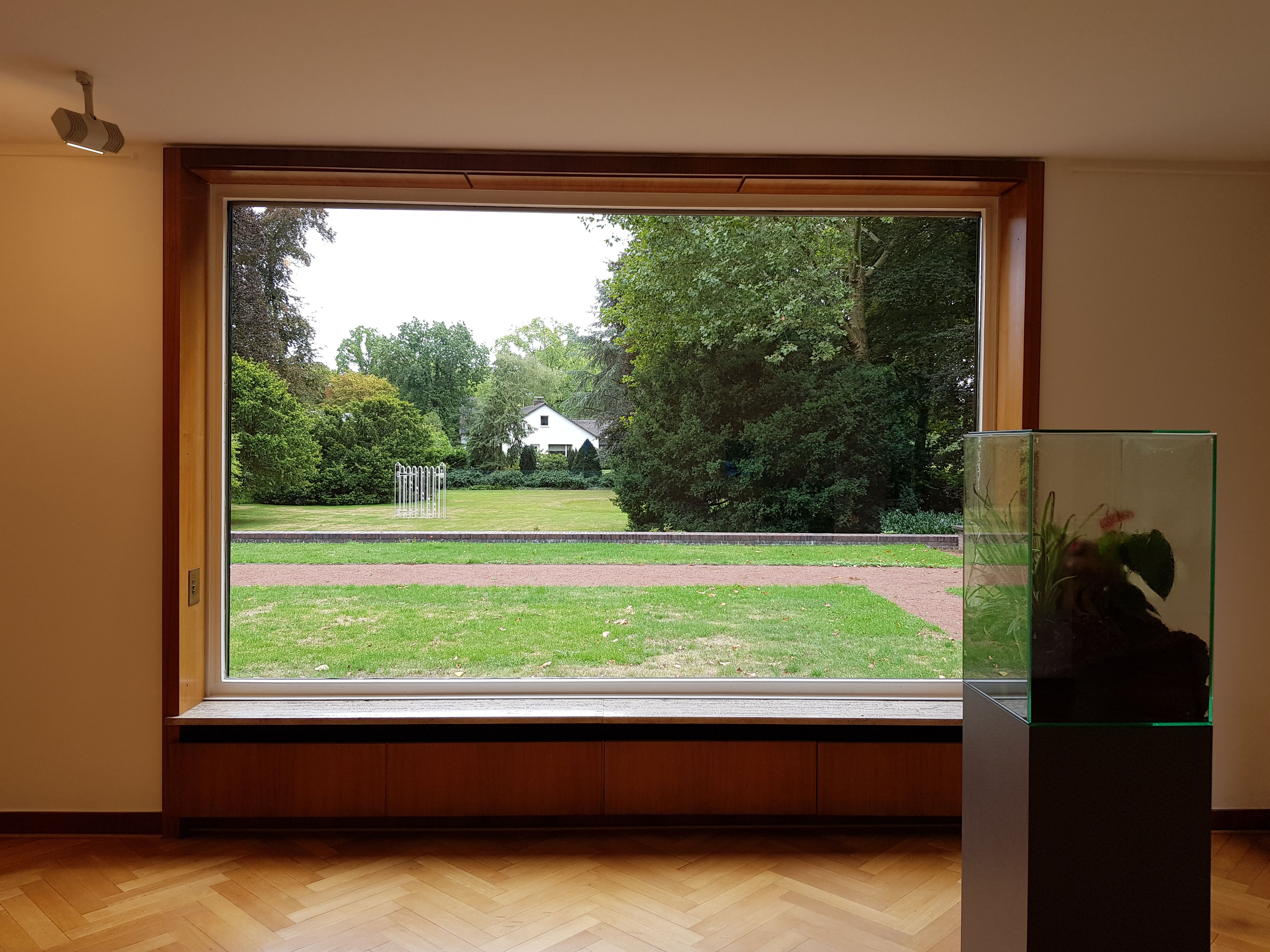 Pin Von M Auf Haus Lange Haus Esters Mies Van Der Rohe Bauhaus