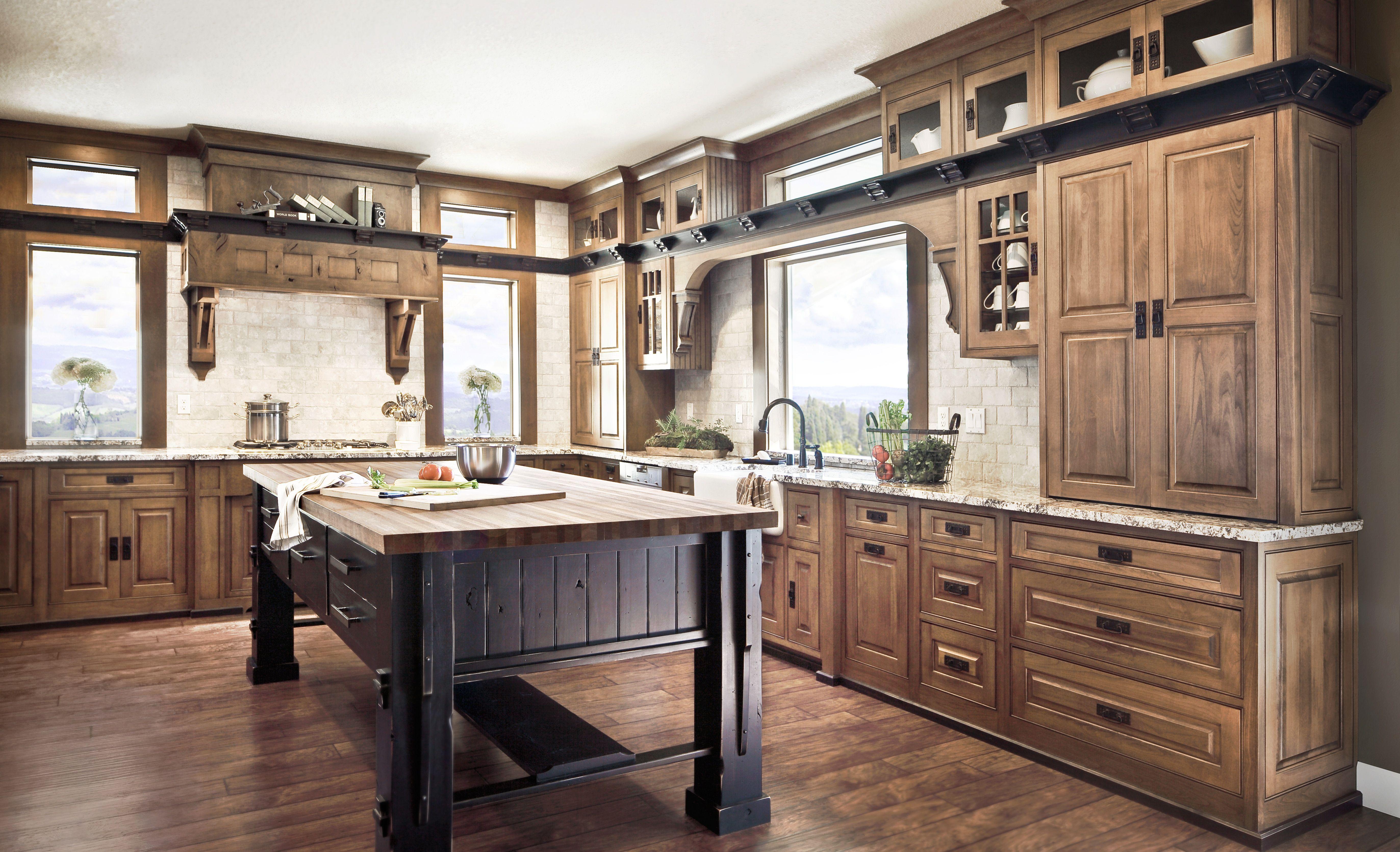 Dewils Fine Cabinetry Alder Kitchen Cabinets Kitchen Cabinet Styles Knotty Alder Kitchen