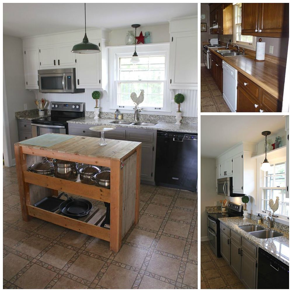 She Wanted To Raise Her Homes Value By Tens Of Thousands Look - Kitchen remodels under 5000