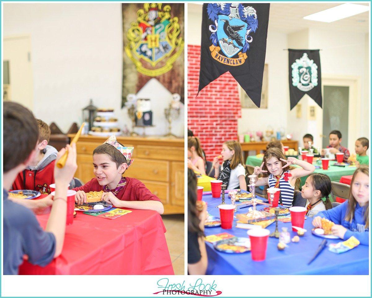 Harry Potter Birthday Party Hogwarts Birthday Party Ideas Themed