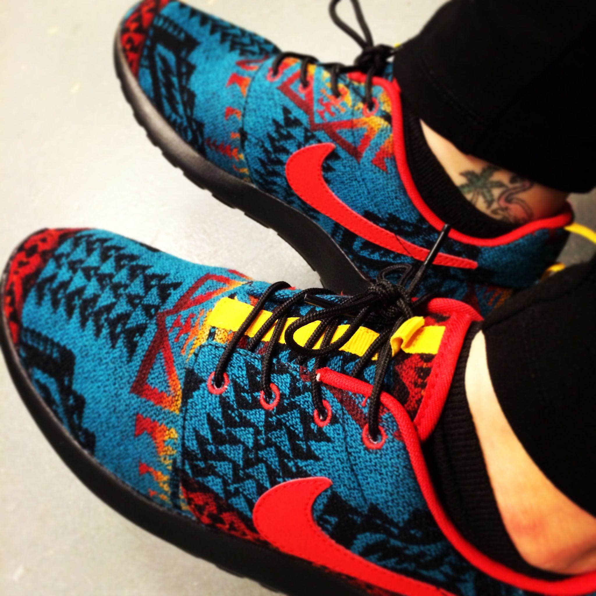 separation shoes 8dc5f 390bf My Nike Roshe Run Pendleton Custom ID s!