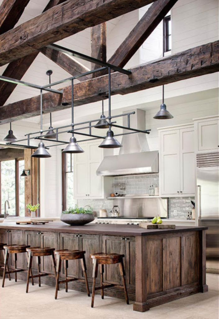 The 15 Most Beautiful Kitchens On Pinterest Sanctuary Home Decor Farmhouse Style Kitchen Cabinets Rustic Kitchen Cabinets Modern Farmhouse Kitchens