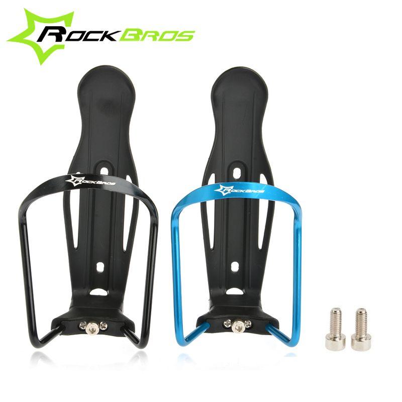 ROCKBROS Bike Water Bottle Cage Adjustable Aluminium Alloy Bicycle Bottle Holder