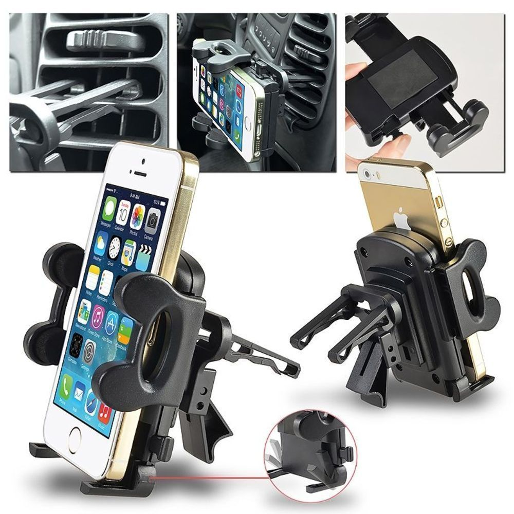 Details about Air Vent Car Mount Holder Stand for iPhone