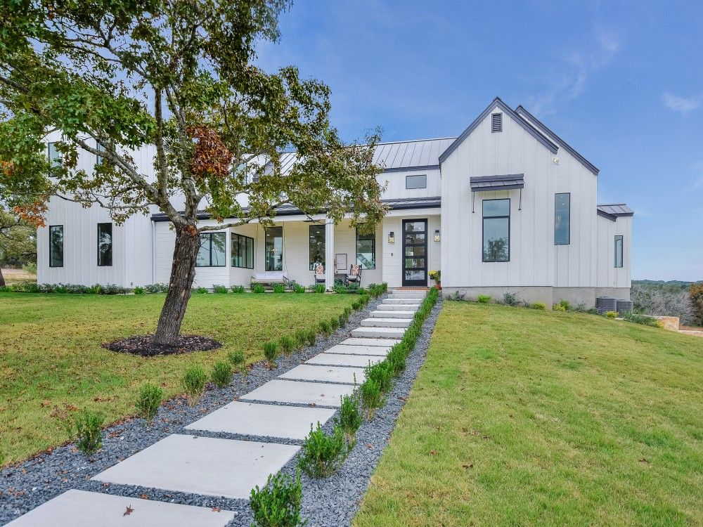 Modern farmhouse premier west homes liberty hill tx