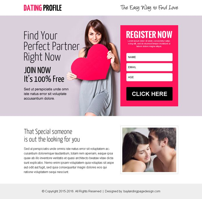 appealing dating call to action ppv landing page design | dating ppv  landing page design | Pinterest | Action