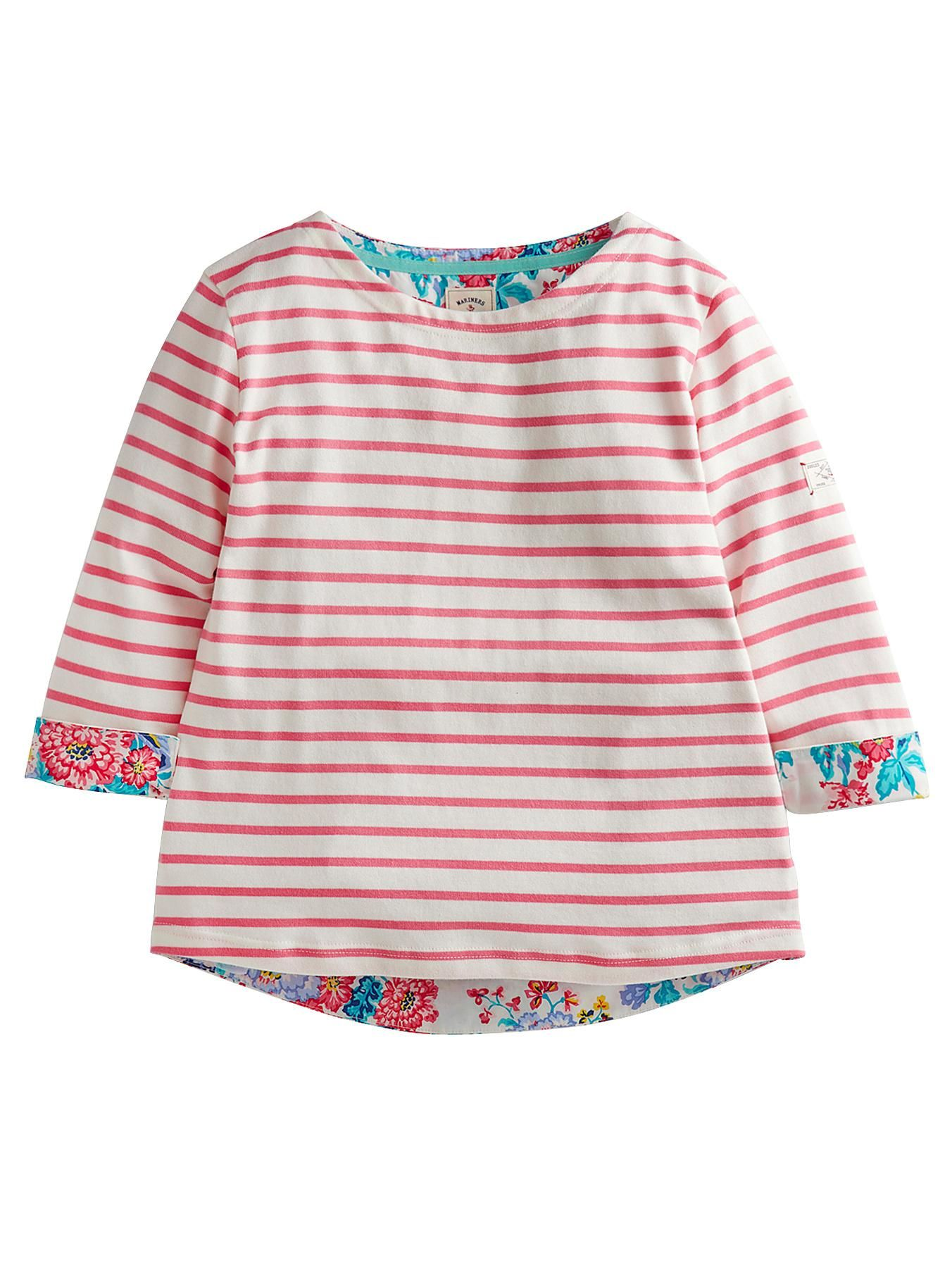 Joules Laura Floral Back Top | very.co.uk