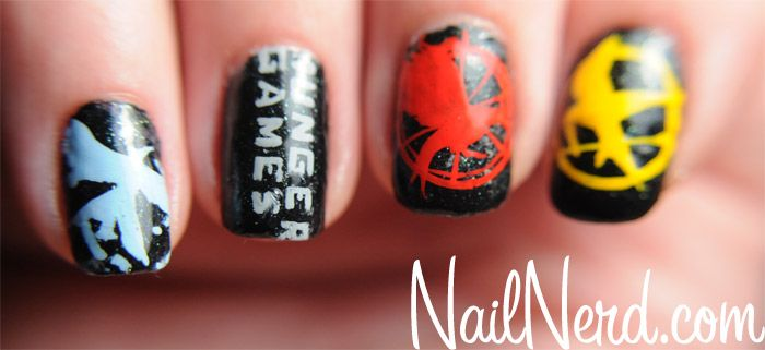 Hunger Game Nails...