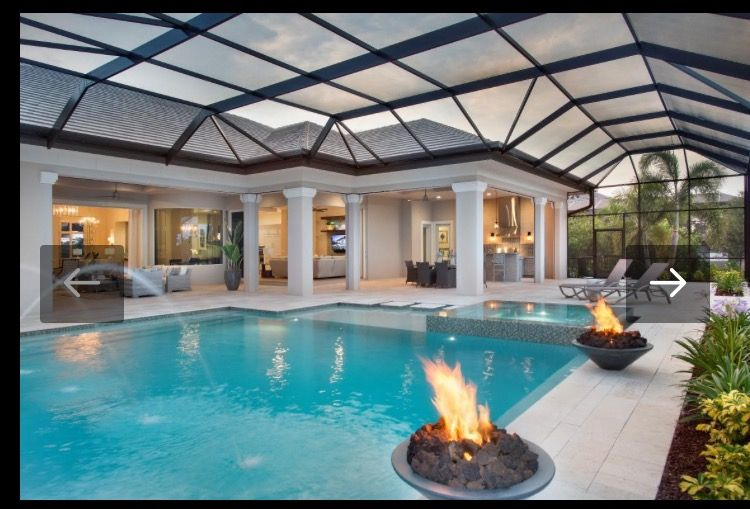 We Like Covered Lanai Area And The Open Floor Plan To The Inside Outside Space Much Of The House Opens To Outdoor Lanai In Floor Plans Outdoor House Styles