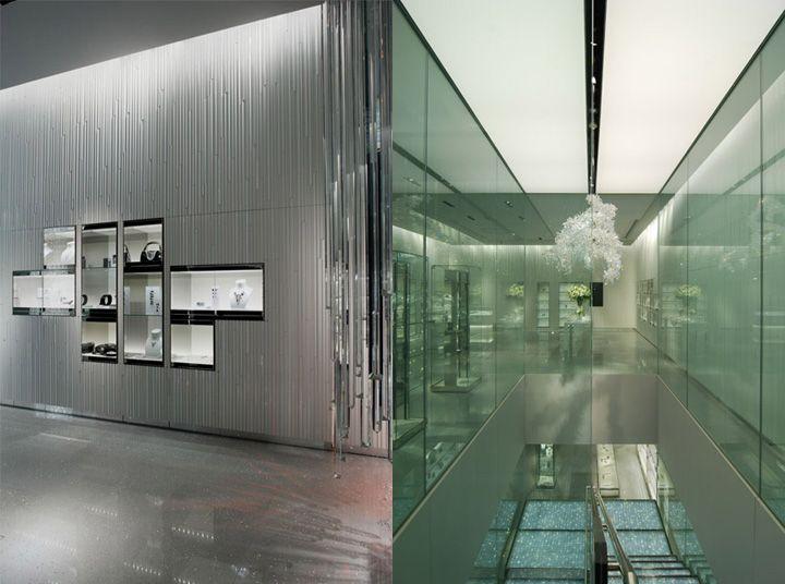 swarovski store ginza - Swarovski Interior Design