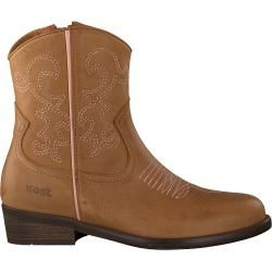 Photo of Koel4 ankle boots Ko597 cognac girls