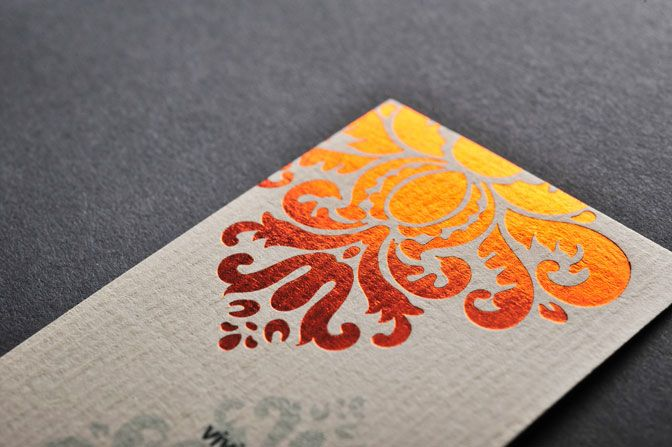 Quick Full Color Foil Business Card Silver Gold Foil Stamping Letterpress Foiled Business Cards Foil Business Cards Foil Stamping Design Foil Stamping