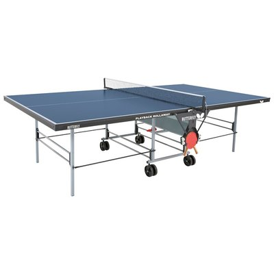 Butterfly Butterfly Playback 19 Rollaway Regulation Size Foldable Indoor Table Tennis Table 19mm Thick Outdoor Table Tennis Table Butterfly Table Tennis Ping Pong Table