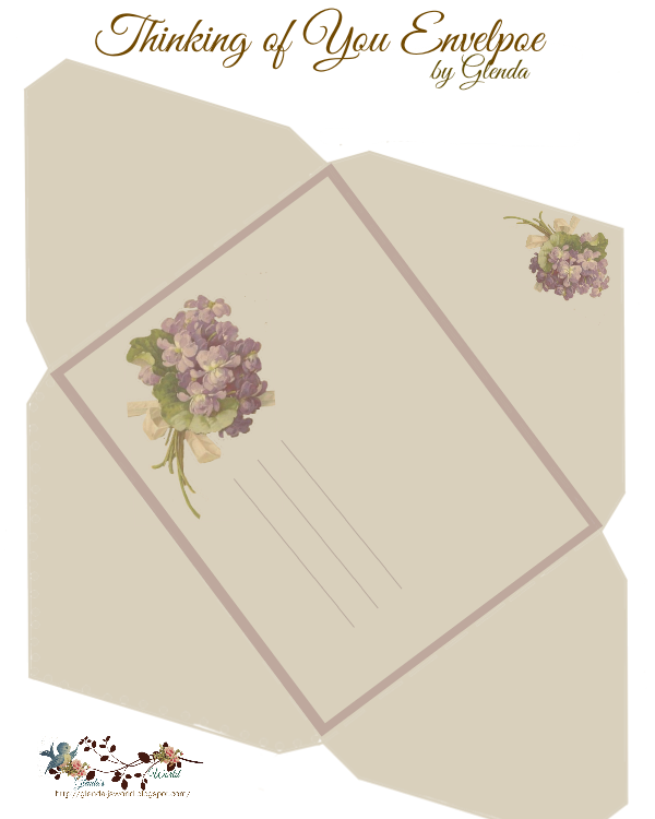 Pin Count Click Here To Download The Card Click Here To Download The Envelope The Flowers Envelope Template Printable Card Envelopes Printable Envelope