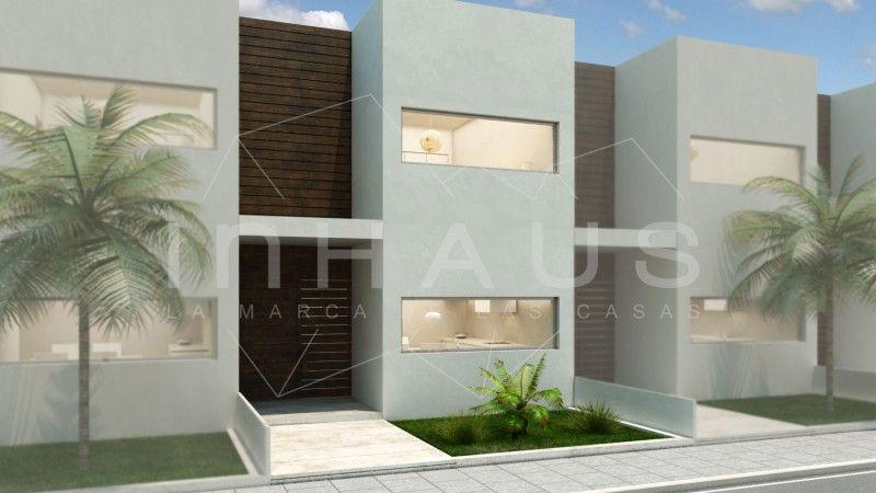 Casas adosadas modernas diseño montgat_FACHADA MODERNA ADOSADO ...