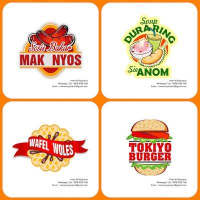 desain dan produksi gerobak logo sosis bakar desain logo sosis desain produksi gerobak logo sosis bakar
