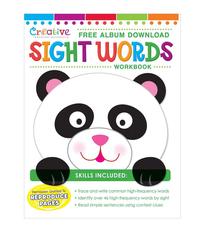 Creative Teaching Materials Workbook Sight Words