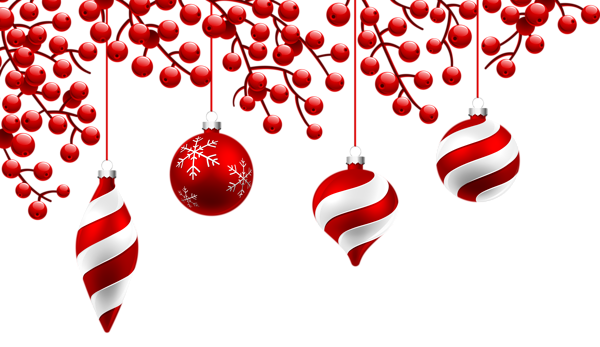 red christmas decoration png clipart image photoshop tutos rh pinterest com transparent christmas decorations clipart christmas decorations clipart cartoon