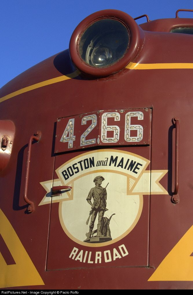 Boston & Maine Railroad Locomotives F7 | Photo Location Map