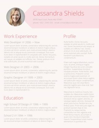 110+ Free Resume Templates for Word Downloadable Bewerbung