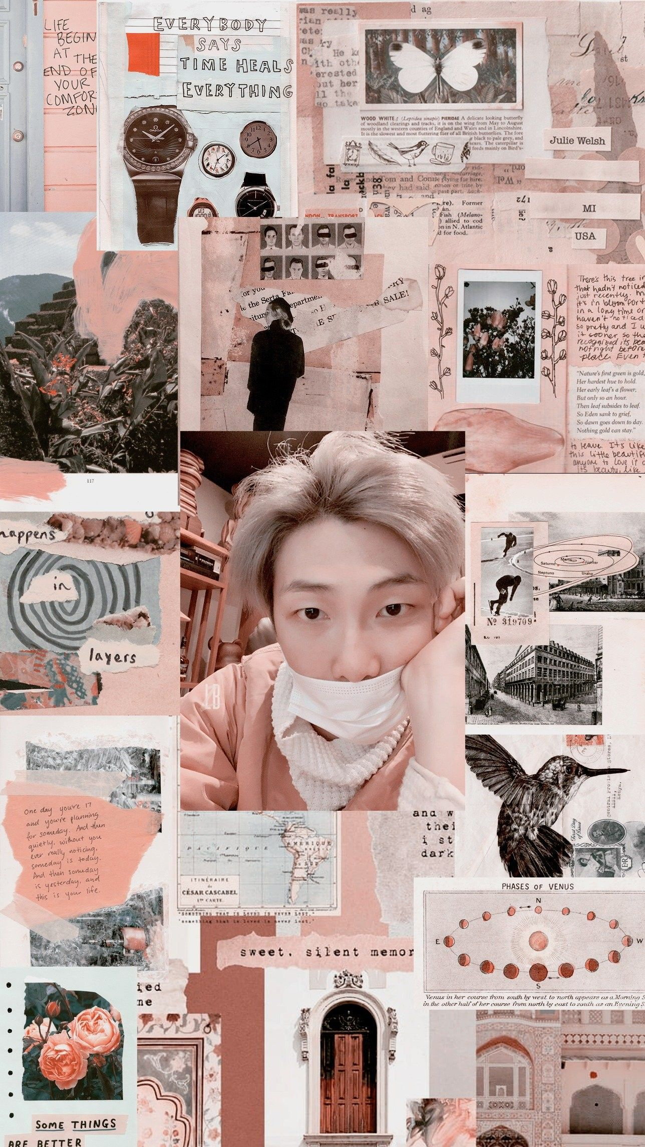 Namjoon Aesthetic Wallpaper Credits To Twitter Lockszcreenbts