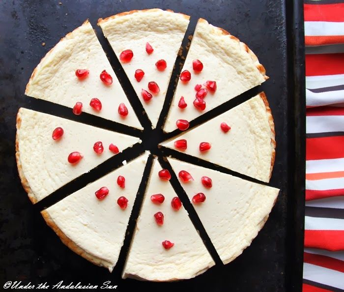 Andalusian auringossa-ruokablogi: Juustotonta juustokakkua