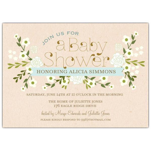 Vintage blue floral baby shower invitations boy baby shower vintage blue floral baby shower invitations filmwisefo