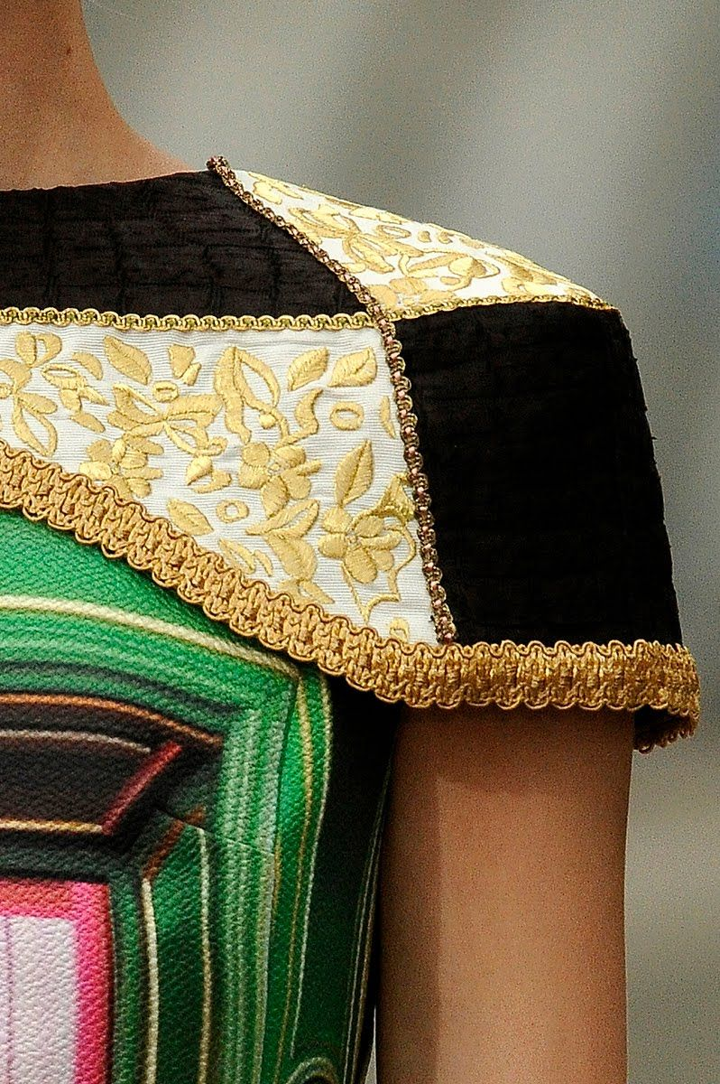 If It's Hip, It's Here: Home Decor For The Body - Mary Katrantzou Spring 2011 Collection