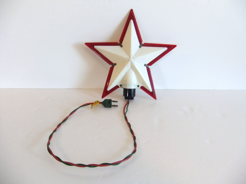 Vintage Star Tree Topper 109